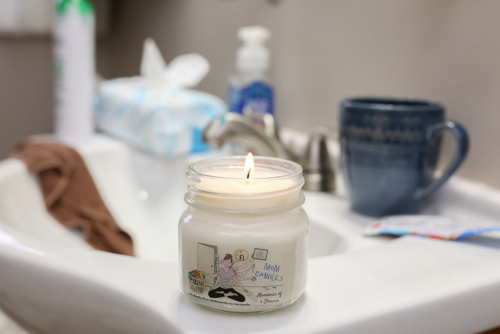 Mom Candles--Womens Artisan USA American Made Clothing Accessories