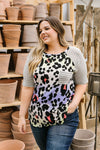 Pastel Spots & Stripes Top-1XL, 2XL, 3XL, 5-14-2020, Final Few Friday, Group A, Group B, Group C, Group D, Large, Medium, Plus, Small, Tops, XL, XS-Womens Artisan USA American Made Clothing Accessories