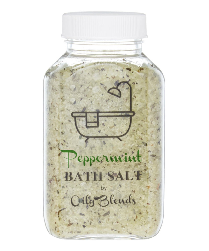 Essential Oil 6 oz Bath Salts-Peppermint-Womens Artisan USA American Made Clothing Accessories