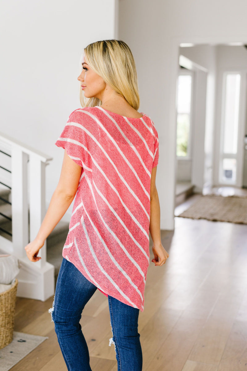 Slanted Top-1XL, 2XL, 3XL, 4TH2020, 6-19-2020, 6-9-2020, Bonus, Group A, Group B, Group C, Large, Medium, Plus, Small, Tops, XL, XS-Womens Artisan USA American Made Clothing Accessories