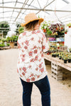 Smocked Floral Top-1XL, 2XL, 3XL, 5-14-2020, 5-22-2020, Bonus, Group A, Group B, Group C, Large, Medium, Plus, Small, Tops-Womens Artisan USA American Made Clothing Accessories