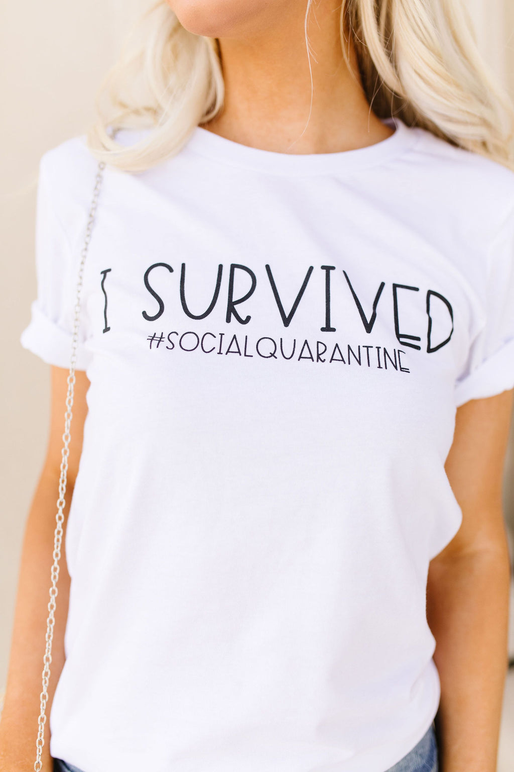 Survivor Graphic Tee-2XL, 3XL, 4-23-2020, BFCM2020, Bonus, FeaturedJan21, Final Few Friday, Group A, Group B, Group C, Group D, Group T, Large, Medium, Plus, Small, Tops, XL, XS-Womens Artisan USA American Made Clothing Accessories