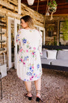 Terrace Garden Dress In Ivory-1XL, 2XL, 3XL, 5-26-2020, 6-5-2020, Bonus, Dresses, Group A, Group B, Group C, Large, Medium, Plus, Small, XL, XS-Womens Artisan USA American Made Clothing Accessories