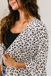 White & Black Spotted Kimono-1XL, 2XL, 3XL, 6-12-2020, 6-4-2020, Bonus, Group A, Group B, Group C, Large, Medium, Plus, Small, Tops, XL, XS-Womens Artisan USA American Made Clothing Accessories