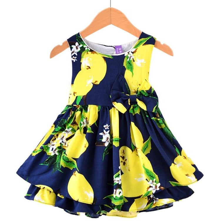 Zoey Printed Dress - Patter Panda Infant & Toddler Clothing