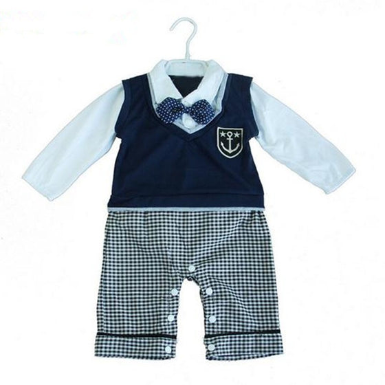 Johnny Cardigan Vest Set - Patter Panda Infant & Toddler Clothing
