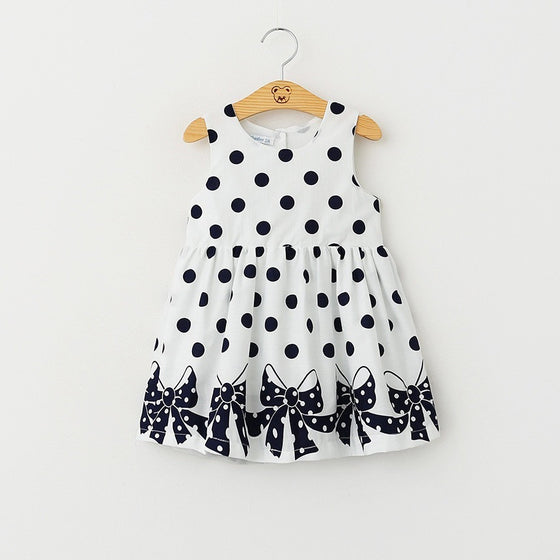 Margie Polka Dot Dress - Patter Panda Infant & Toddler Clothing