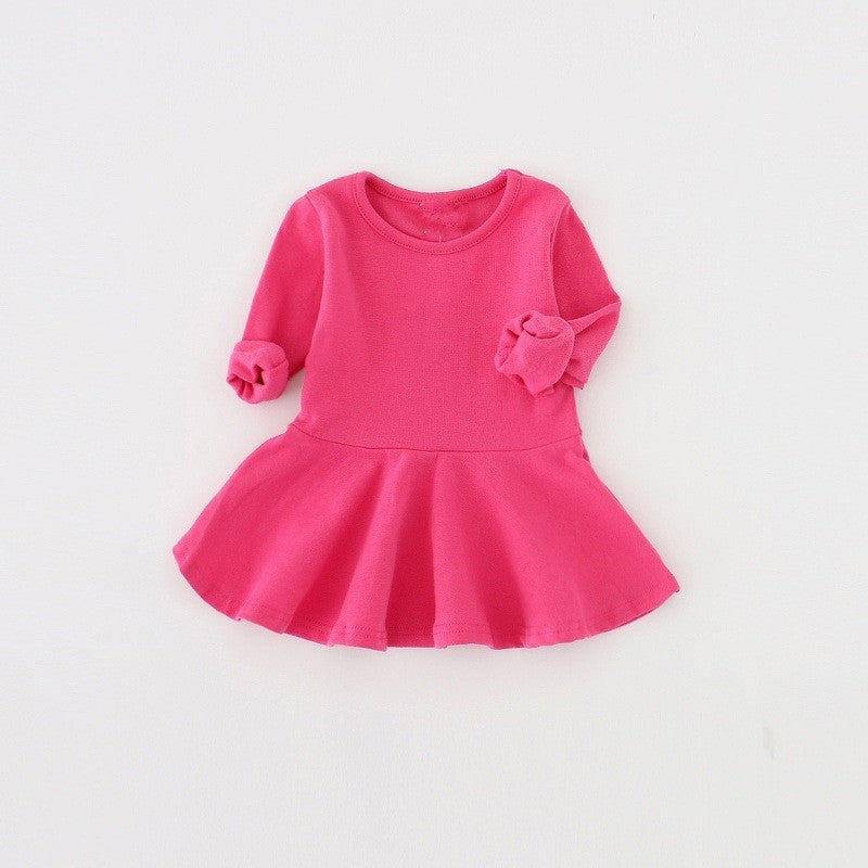 Primrose Long Sleeve Dress - Patter Panda Infant & Toddler Clothing