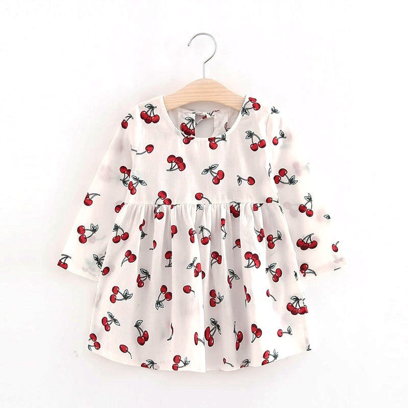Paige Printed Long Sleeve Dress - Patter Panda Infant & Toddler Clothing
