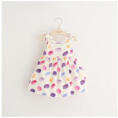 Sophie Printed Summer Dress - Patter Panda Infant & Toddler Clothing