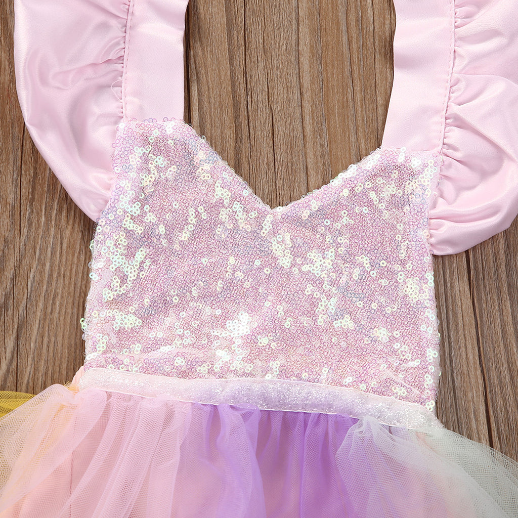 Mackenzie Tutu Princess Romper Dress - Patter Panda Infant & Toddler Clothing