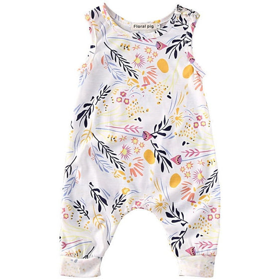 Penny Floral Romper - Patter Panda Infant & Toddler Clothing