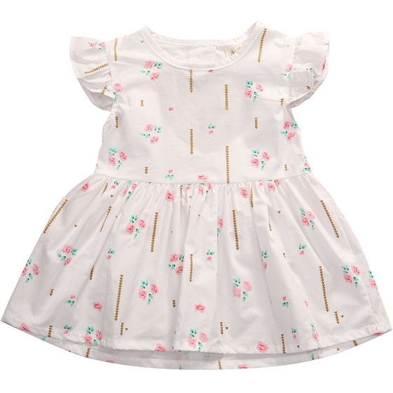 Marie Printed Summer Dress - Patter Panda Infant & Toddler Clothing