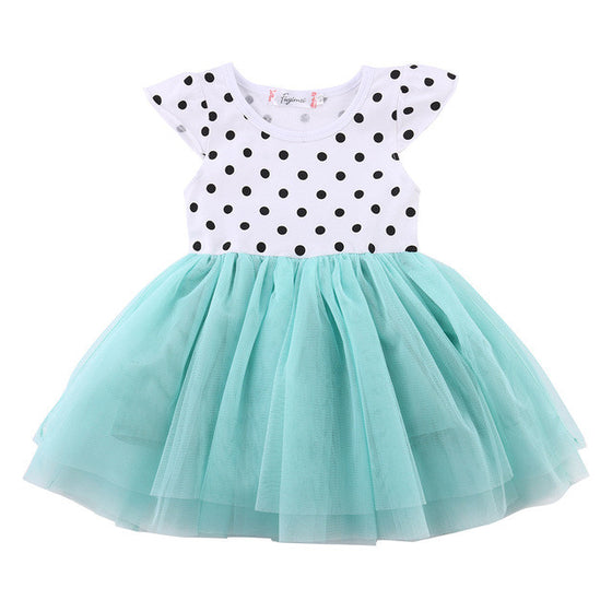 Breanna Casual Tutu Dress - Patter Panda Infant & Toddler Clothing