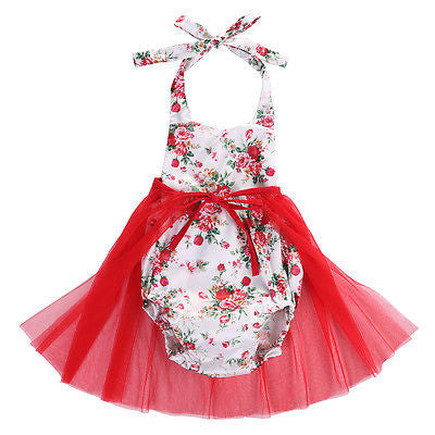 Lilith Floral Romper + Tutu Skirt Set - Patter Panda Infant & Toddler Clothing