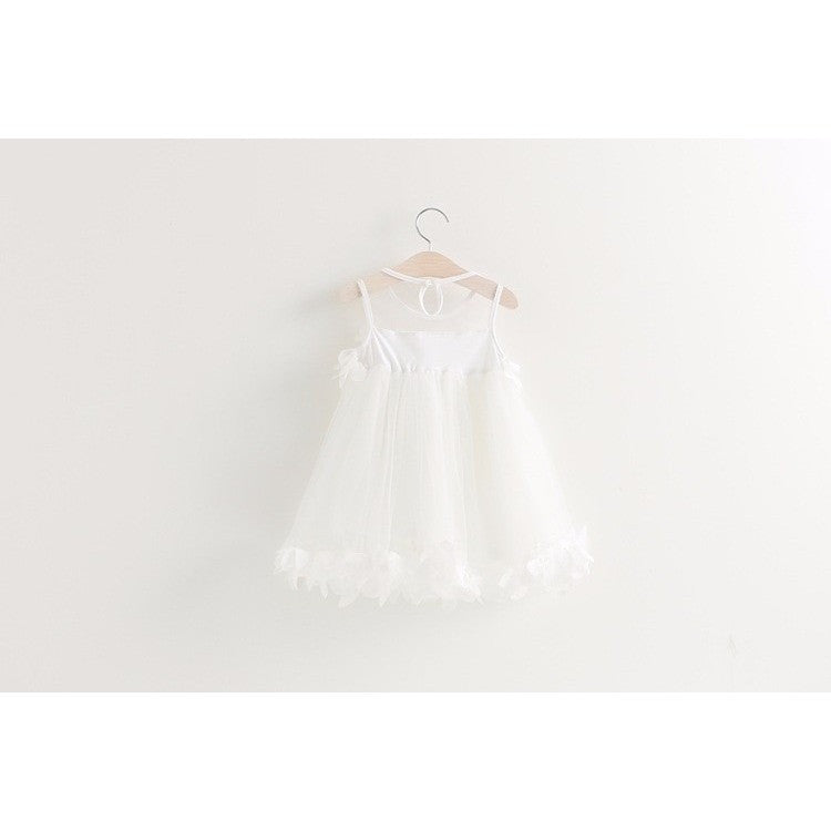 Hayley Floral Tulle Dress - Patter Panda Infant & Toddler Clothing