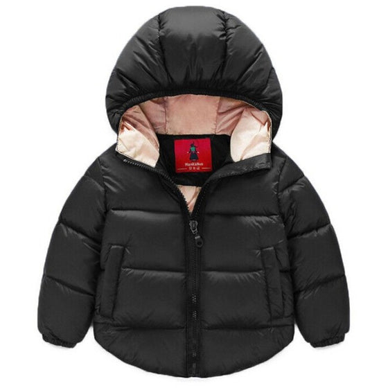 Alexi Hooded Puffy Jacket - Patter Panda Infant & Toddler Clothing