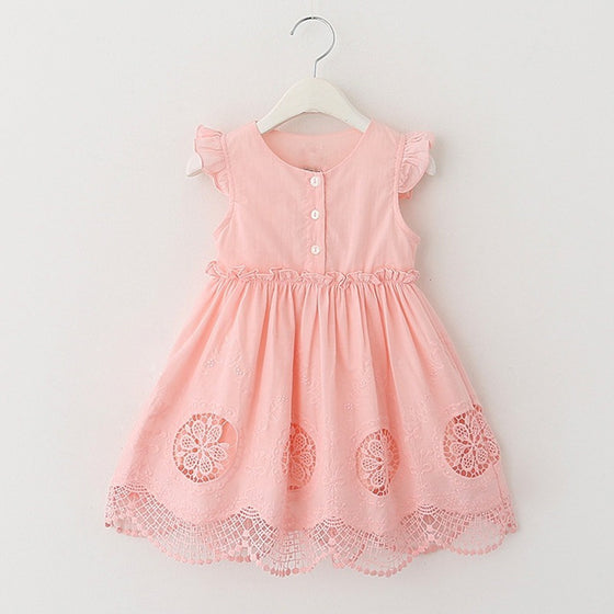 Skylar Summer Dress - Patter Panda Infant & Toddler Clothing