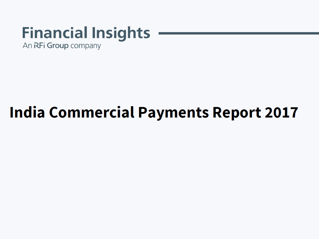 India Commercial Payments Report