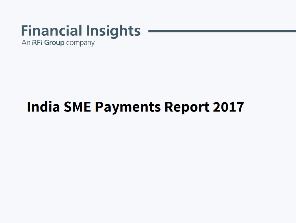 India SME Payments Report
