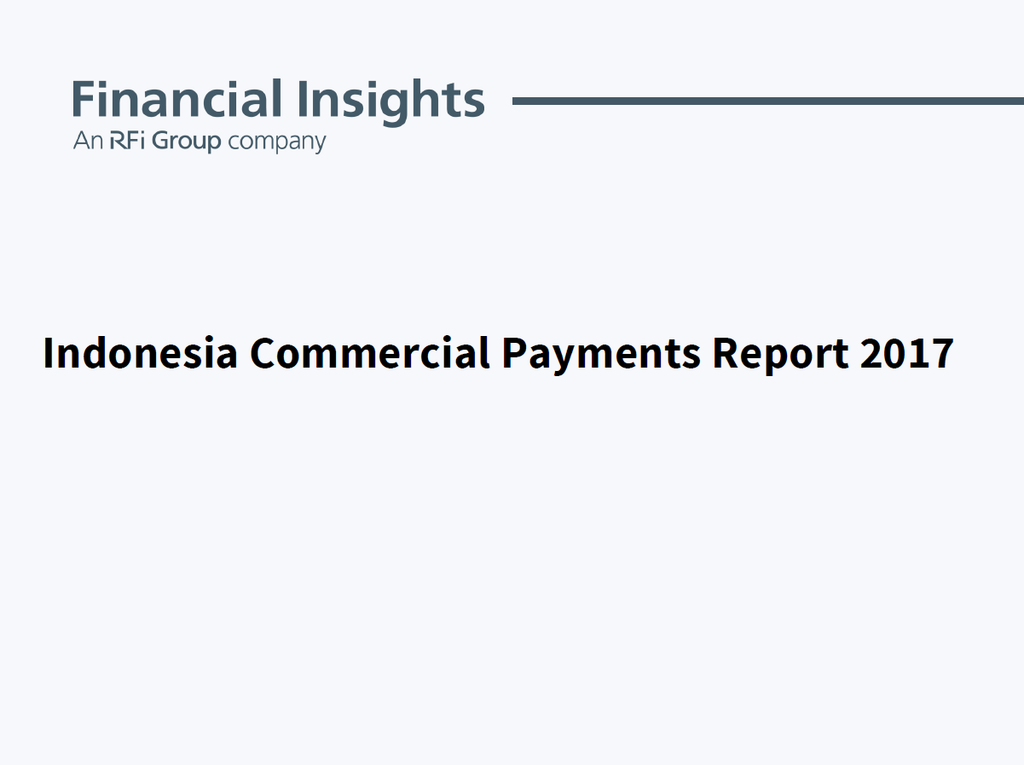Indonesia Commercial Payments Report