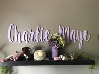 Personalized Name/Word Cut Out - 30