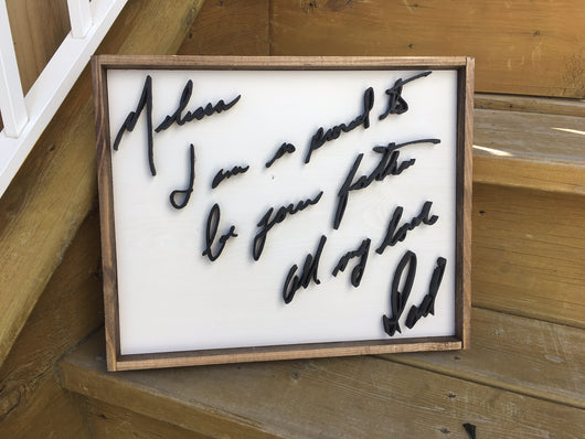 The Handwriting Sign | 11