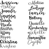Personalized Name/Word Cut Out - 12""