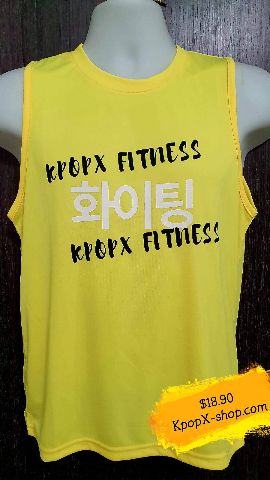 SLEEVELESS - DRI-FIT Yellow $18.90 Only!