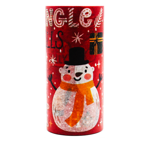Merry Christmas Washi Tape - Snowman (Large)