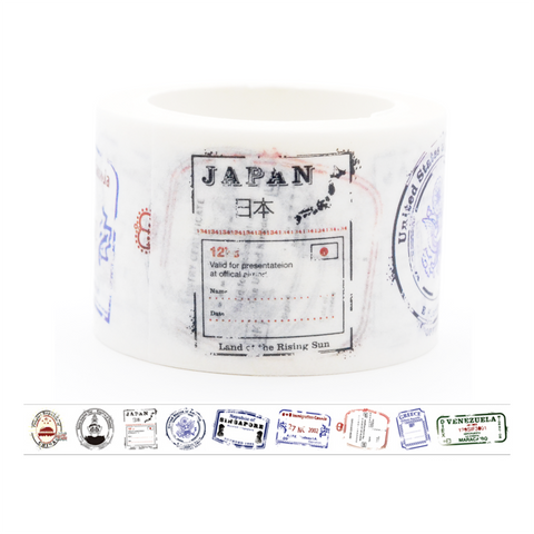 ST2 Vintage Stamp Washi Tape Set 2