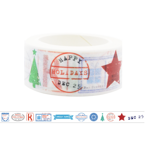 ST5 Happy Holidays Washi Tape