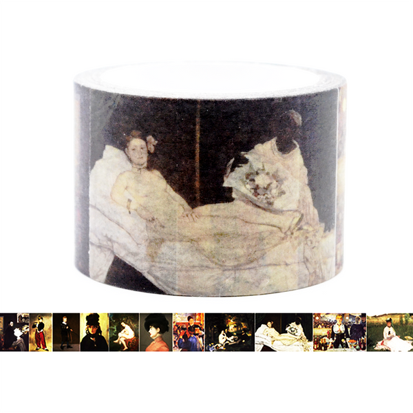 Famous Painting Collection Washi Tape - Edouard Manet