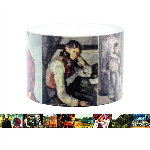 Famous Painting Collection Washi Tape - Paul Cézanne