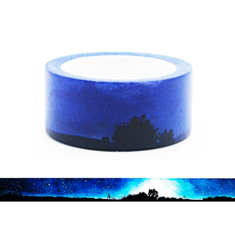 Mysterious Night Scene Washi Tape