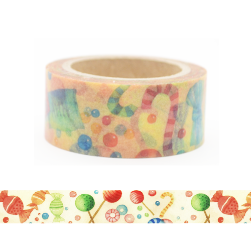 Lollipops Washi Tape