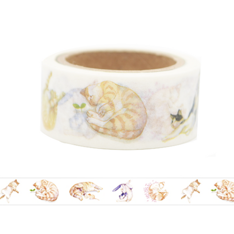 Lazy Cat Washi Tape