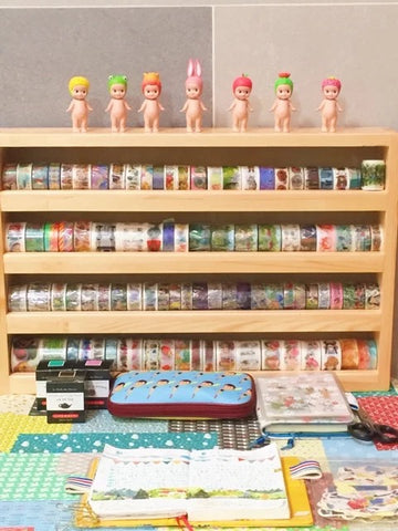 Wooden Handmade Shelve for Washi Tapes (Pre-order)