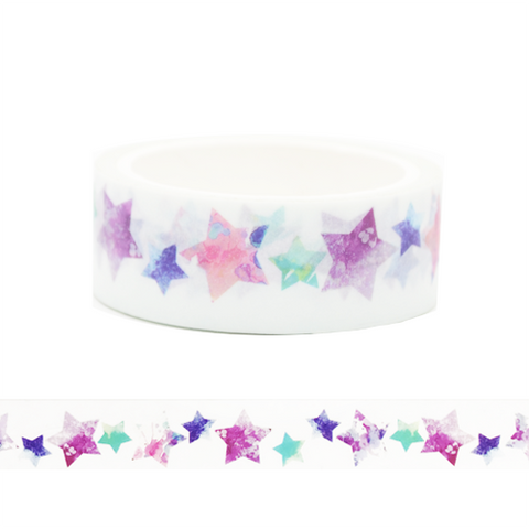 Colourful Stars Washi Tape