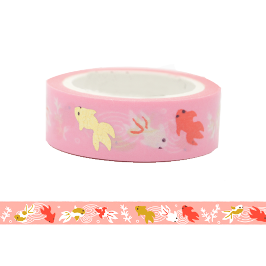 Gold Fish Washi Tape
