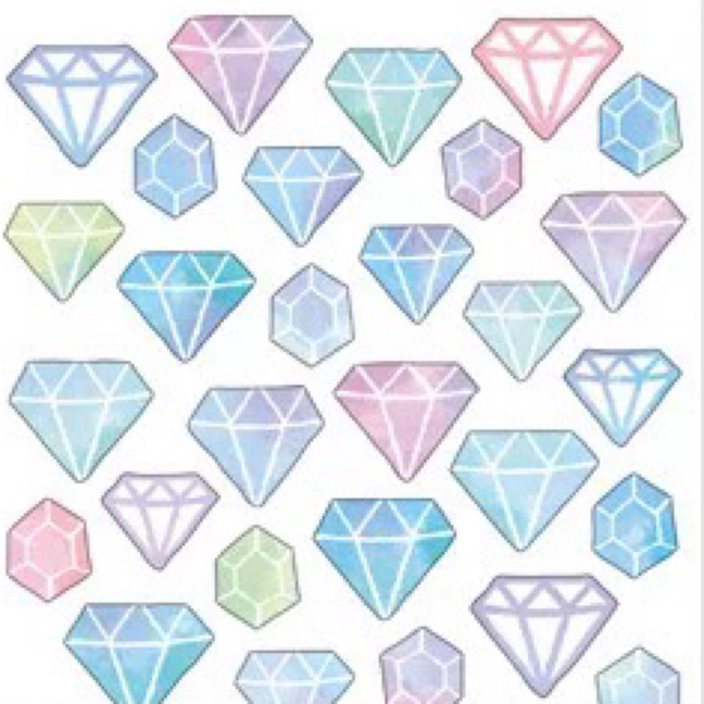 Mind Wave Masking Seal Diamond Stickers