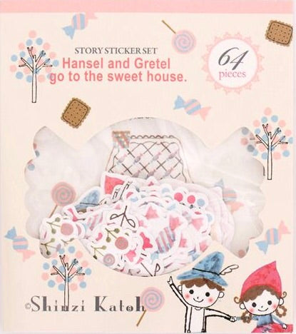 Shinzi Katoh Hansel & Gretel Stickers