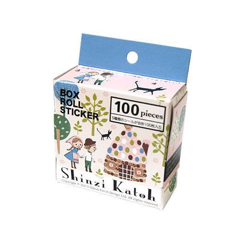 Shinzi Katoh Sticker Roll - Hansel & Gretel