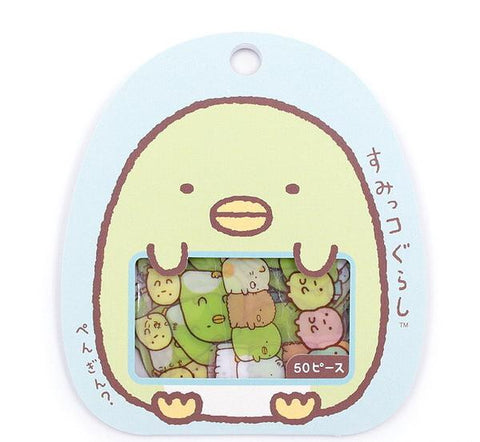 "SAN-X Sumikko Gurashi ""Things in the Corner"" 50-Piece Sticker Series - Penguin"