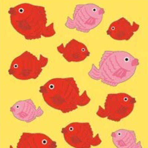 Mind Wave Cute Fish Stickers