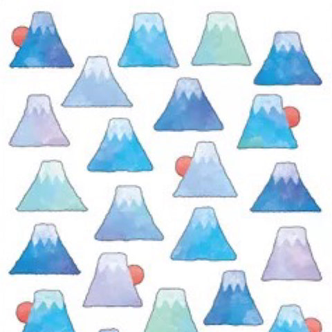 Mind Wave Masking Seal Mount Fuji Stickers