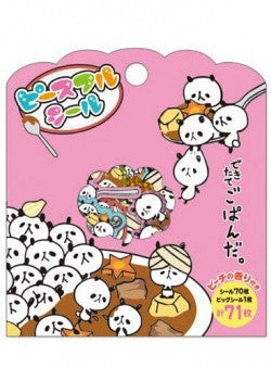 Mind Wave Kawaii 71-Piece Stickers - Panda