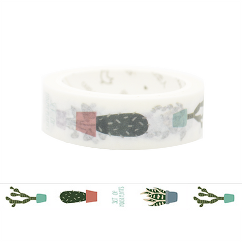 Set of Plants Washi Tape