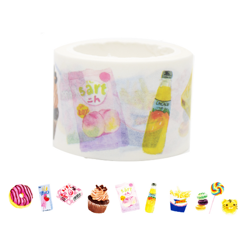 Japanese Snacks Washi Tape