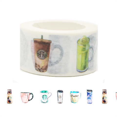 Starbucks Coffee Cups Washi Tape